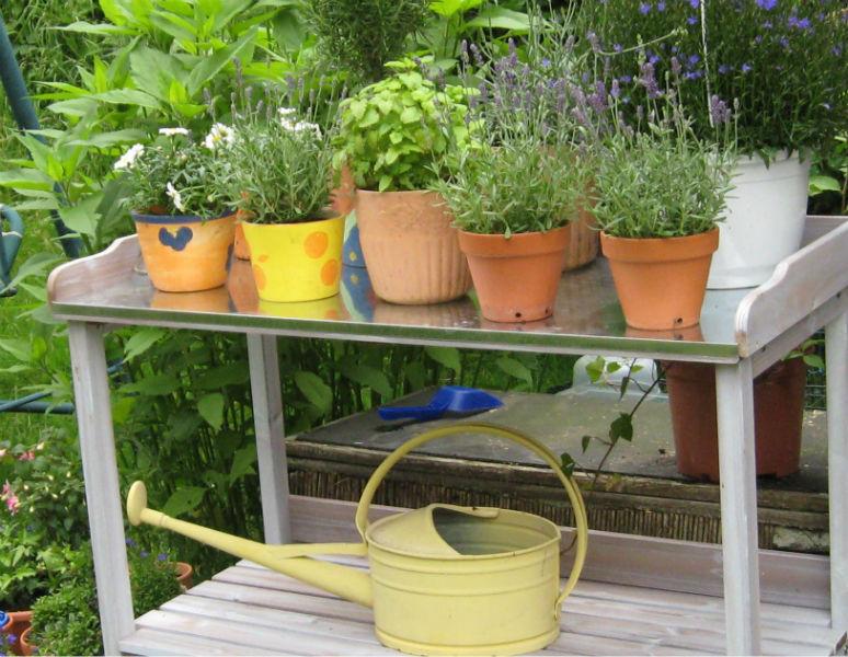 Gartentisch blog Lust auf Garten!