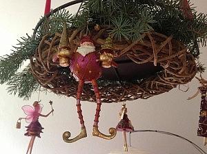 adventskranz 300x224 Schöne Adventszeit und Weihnachten