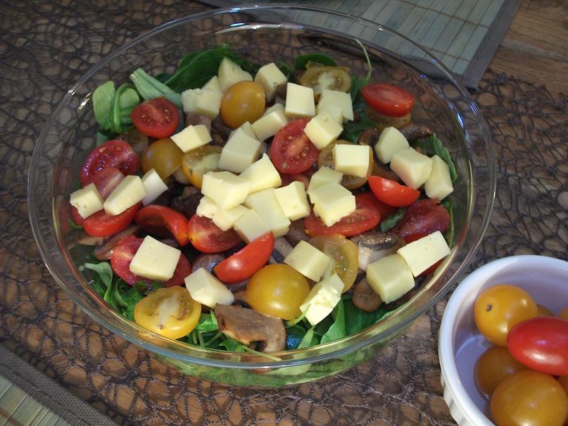 salat mit champinions Endlich Wochenende