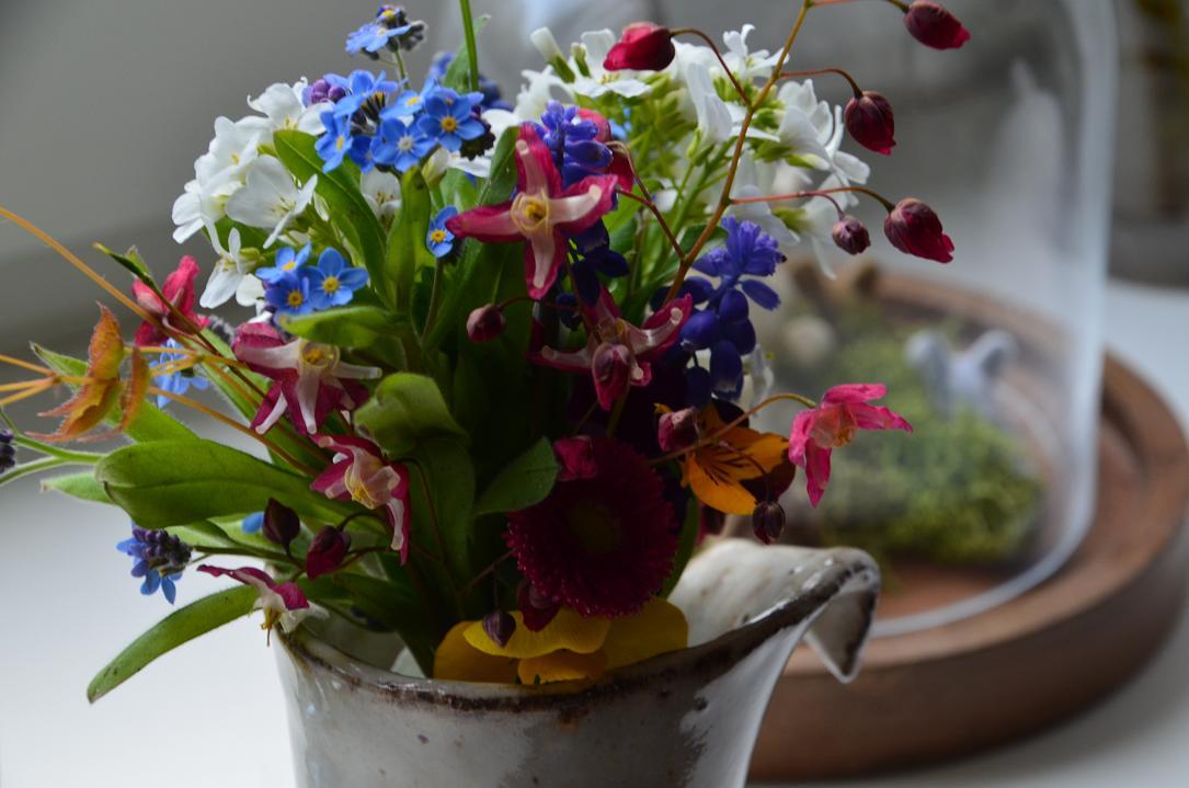 kleiner blumenstrauss Blumenfreitag bei uns