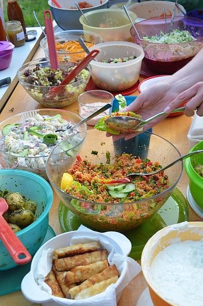 grill salate 398x600 Toller Sonntag – ein echter Sonntag # 53